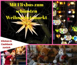 Mit dem Flixbus zum schönsten Weihnachtsmarkt